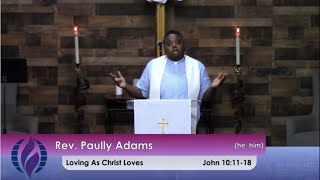 4/25/2021 Sunday Morning Worship at St. John's MCC