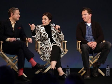 Sherlock Cast Interview with Benedict Cumberbatch, Martin Freeman and More