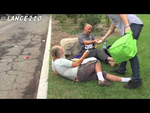Helping Those In Need - Homeless - Social Experiment