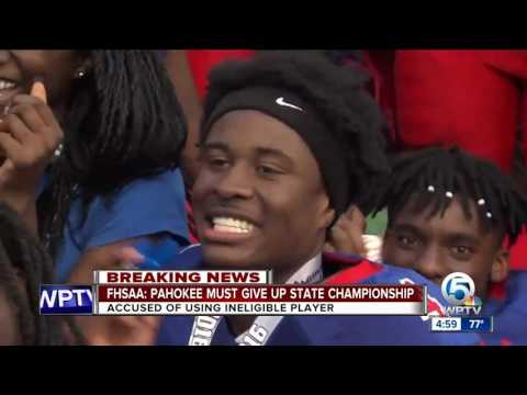 FHSAA: Pahokee must give up state championship