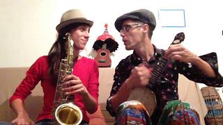 I found a new baby - Banjolele & Saxophone