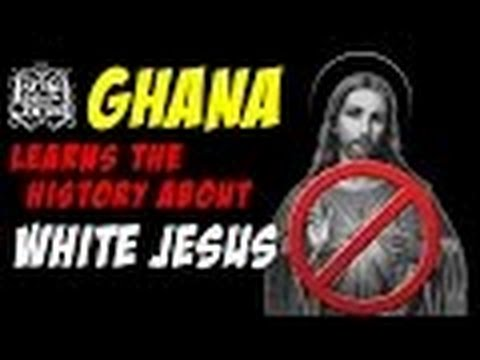 The Israelites  GHANA Learns The HISTORY About WHITE JESUS!!!