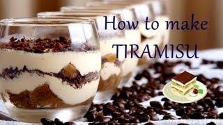 ✿ How to make Tiramisu | Quick and Easy recipe | It