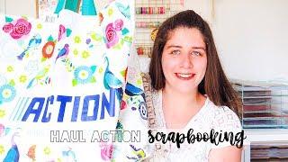 HAUL ACTION - Nouveautés scrapbooking