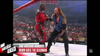 Ringin Yıkıldığı Anlar:WWE Top 10