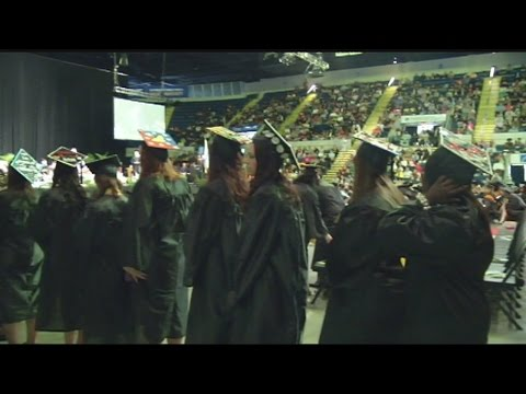 More than 700 students received their diplomas from American International college