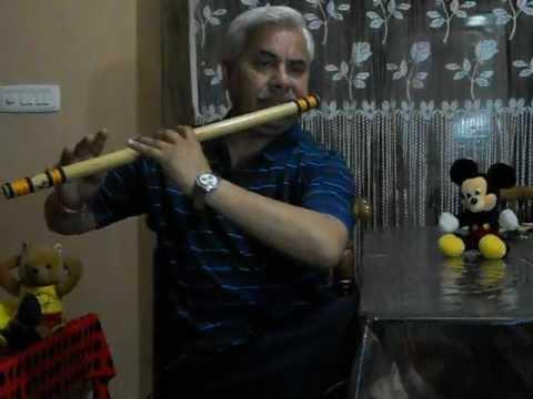 Na Tum Hamen Jano : Na Ham Tumhe Jane :- Flute