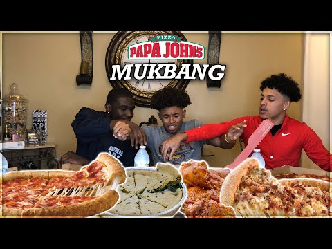 PAPA JOHNS PIZZA MUKBANG  |  Open Discussion Gone Wrong