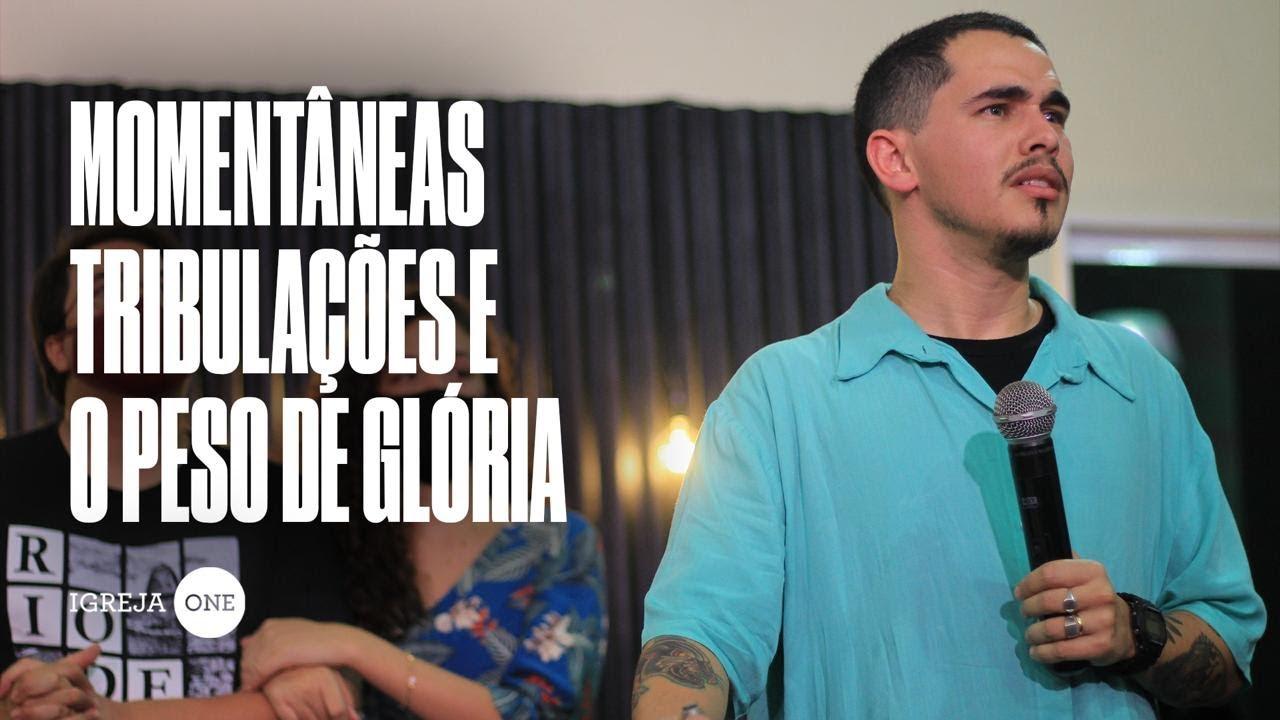 ALESSANDRO VILAS BOAS - MOMENTÂNEAS TRIBULAÇÕES E O PESO DE GLÓRIA (CULTO DE ENVIO)