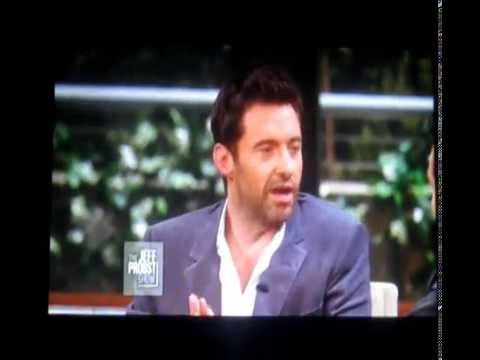 Hugh Jackman on The Jeff Probst Show - 12-23-2012