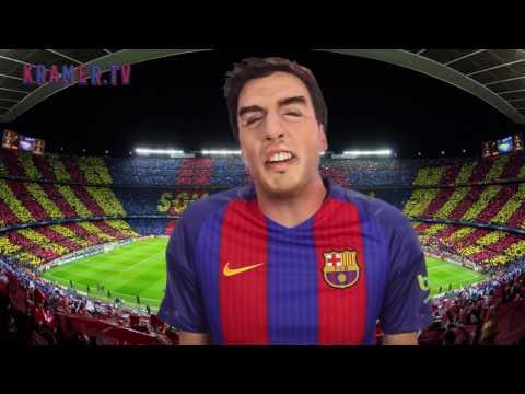 Imitación Suárez - Kramer - El mensaje de  Suárez a Cristiano Ronaldo