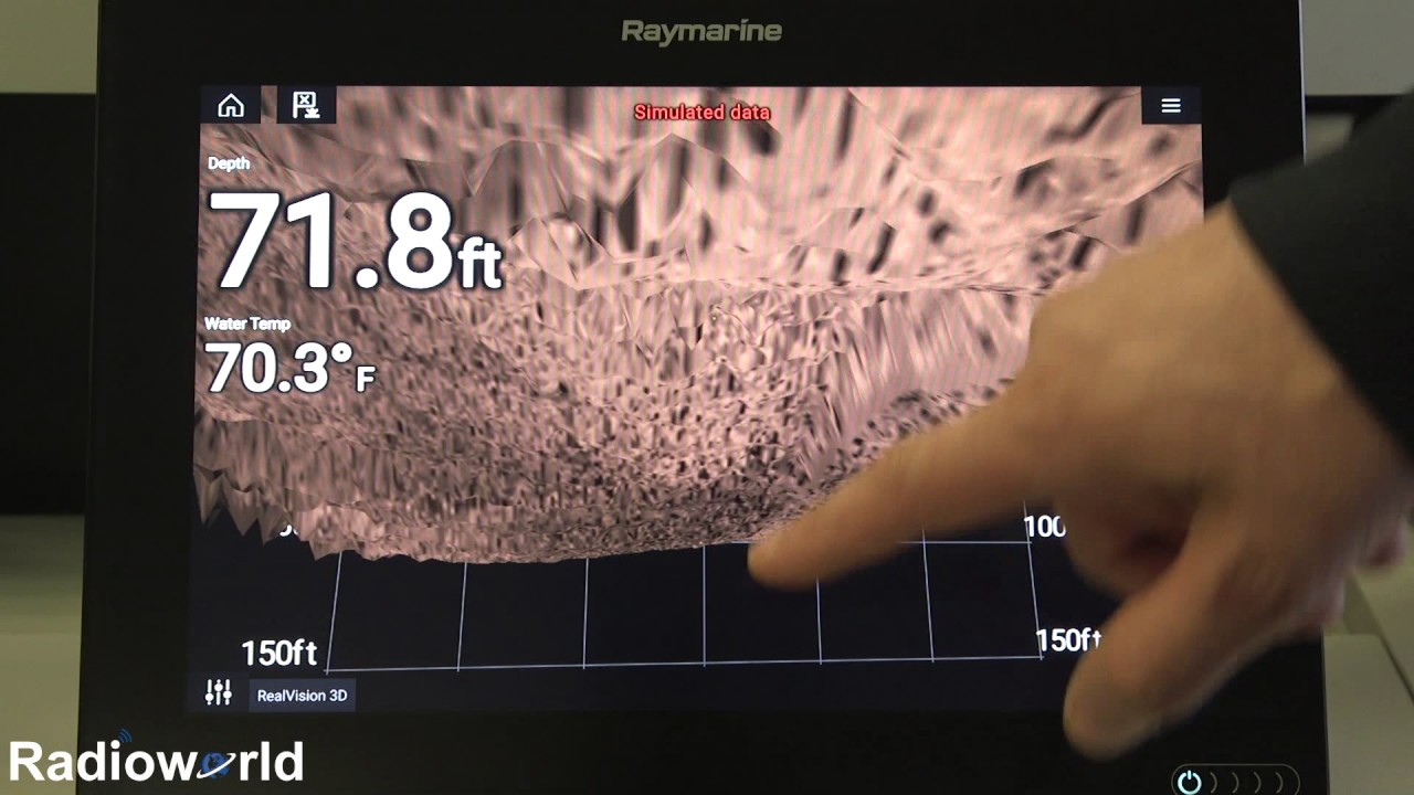 Take a Tour of Raymarine's New Axiom Sonar & GPS Units