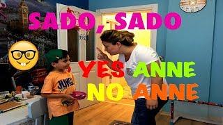 SADO ANNESİNDEN NE SAKLIYOR ? YES ANNE ! NO ANNE ! Johny Johny Yes Papa Song Fun Kids Video