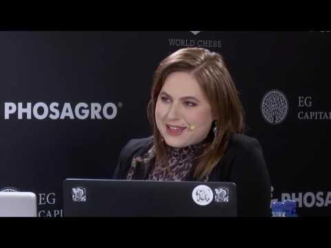 Judit Polgar speaks about pressure on players