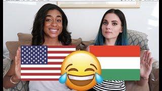 🤣 Teaching American How To Speak HUNGARIAN | Amerikai tanul magyarul beszélni, vicces! 🤣🤣🤣🤣
