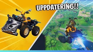 FUNNIEST UPDATE TO FORTNITE!?? FLY & STUNTAR WITH NEW BOOST BUGGY!