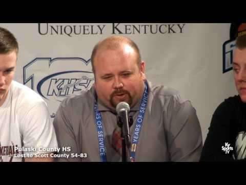 Pulaski County HS Presser vs Scott County 2017 Whitaker Bank KHSAA Sweet 16