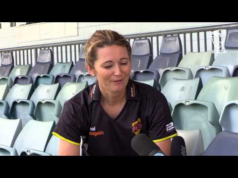Charlotte Edwards Arrival: 09/10/14 Charlotte Edwards Interview
