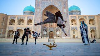 Aladdin Meets Parkour in Real Life - Uzbekistan