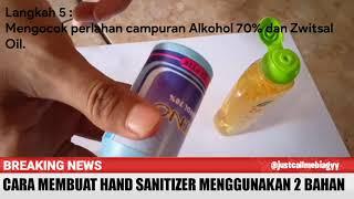 Alat dan bahan yang digunakan : - alkohol 70% zwitsal oil ukur corong kecil (bila diperlukan) tempat parfume bekas semoga bermanfaat sehat s...