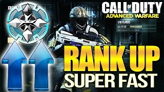 How to Rank Up & Prestige SUPER FAST in Advanced Warfare! Sell Your Loot for XP!!