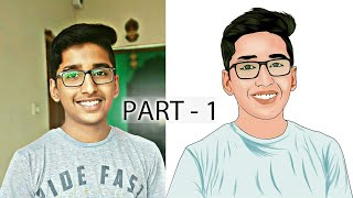 Vector art Step by step in INFINITE DESIGN PART-1 || artwork in design step by step.