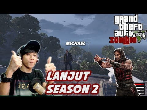 GTA 5 ZOMBIE SEASON 2 | ROOM TOUR MARKAS MICHAEL YANG SEGEDE GABAN - Part 1