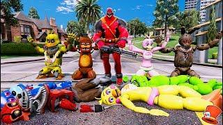 ANIMATRONICS vs SCARY VENOMPOOL! (GTA 5 Mods For Kids FNAF RedHatter) thumbnail