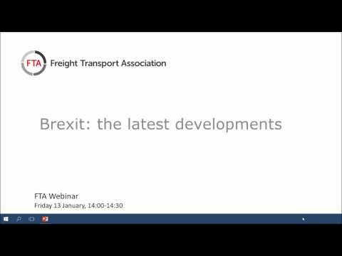 Brexit - what are the implications for logistics - January 2017
