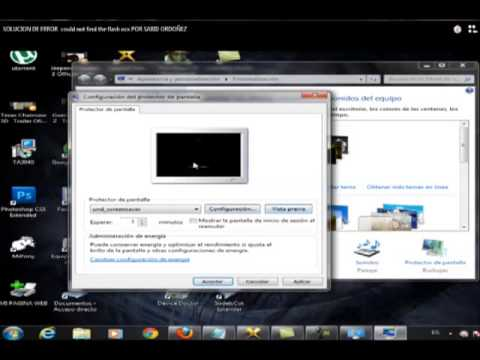 Error could not find the flash ocx SOLUCION 100% EFECTIVA