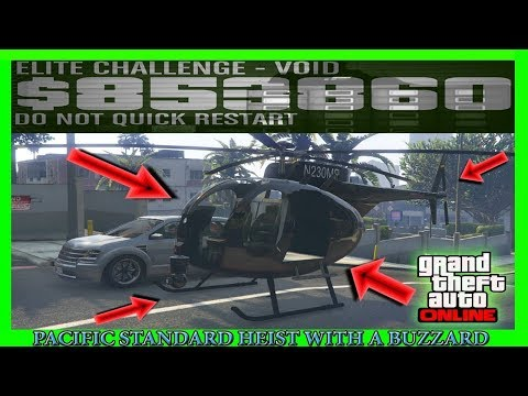 ❌HOW TO FIND AND SAVE A BUZZARD HELICOPTER 100% EVERY TIME! FOR THE PACIFIC STANDARD FINAL GLITCH