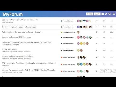 How To Make A Forum In WordPress Website | Create A Discussi