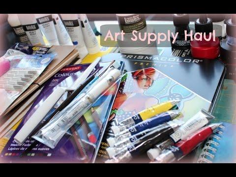 ART SUPPLY HAUL