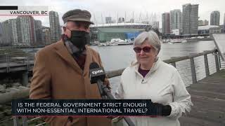 Is the federal government strict enough with non-essential international travel? | Outburst