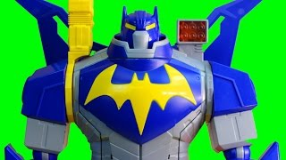 Batman Ultimate Bat Mech Robot With Surprise Blind Bag Mystery Batman Mighty Mini Figures