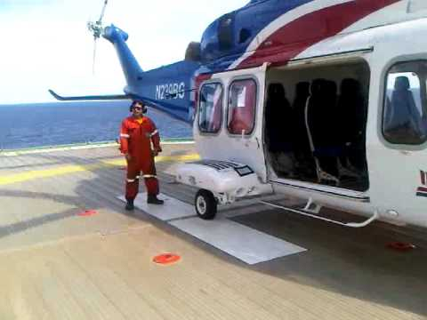 Bristow AW 139 offshore Suriname