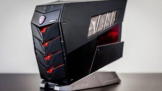 استعراض للحاسب المكتبي MSI Aegis X:إبداع!