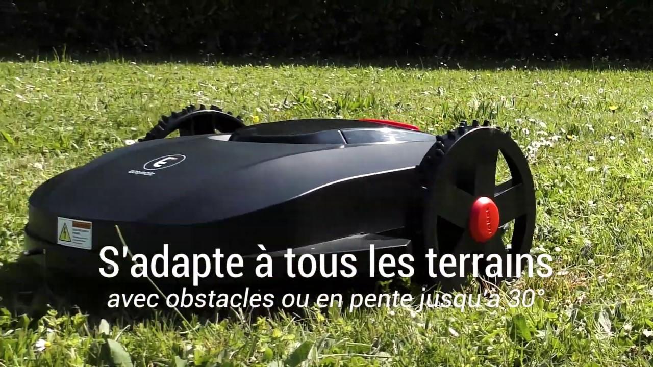 Tondeuse Robot Pour Jardin De 1000 M Extel Garden 1000 Youtube
