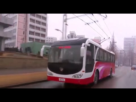New Trolley Buses Favored By Pyongyang Citizens [DPRK News]