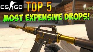 CS GO Skins - Top 5 Most Expensive Possible Drops!
