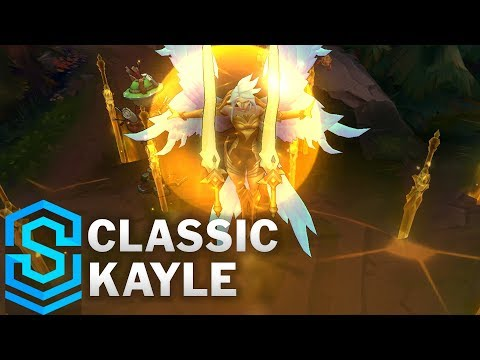 Classic Kayle, the Righteous - Ability Preview - League of Legends thumbnail