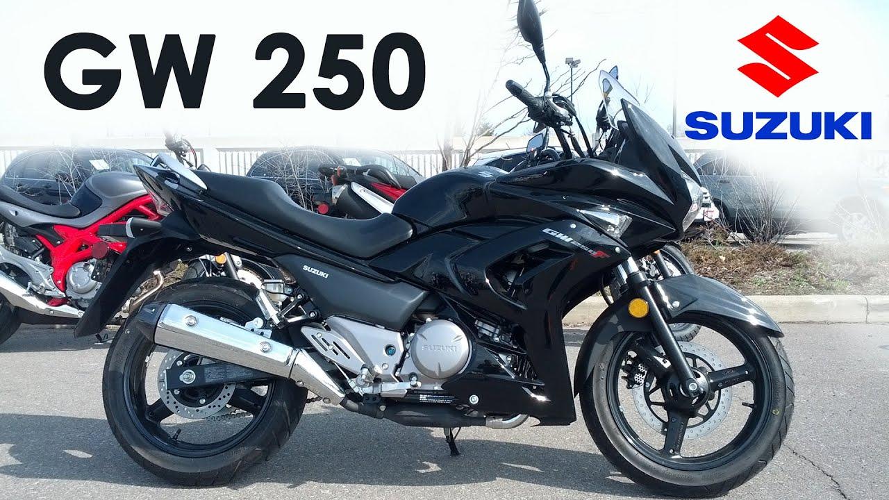 Suzuki Demo Ride - 2015 GW250 - YouTube