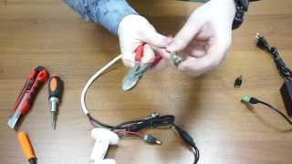 Как подключить камеру видеонаблюдения к видеорегистратору. Видеонаблюдение своими руками.(Как самостоятельно подключить камеру видеонаблюдения к видеорегистратору или как собрать систему видеона..., 2015-01-15T23:36:16.000Z)