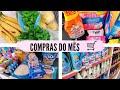 COMPRAS DE SUPERMERCADO, DO MÊS | ORGANIZANDO AS COMPRAS 🛒