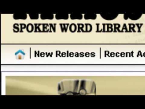 Einführung in die Naxos Spoken Word Library