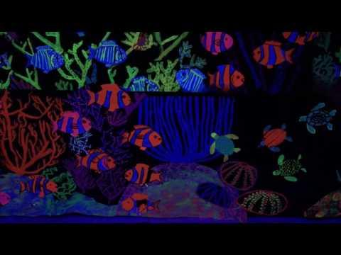Black Light Under the Sea Art Show