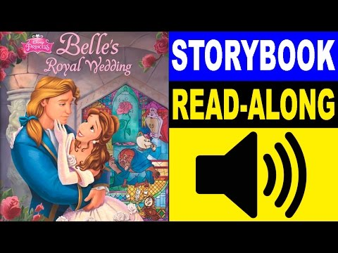 beauty-and-the-beast-read-along-story-book-|-belle's-royal-wedding-|-read-aloud-books-for-kids