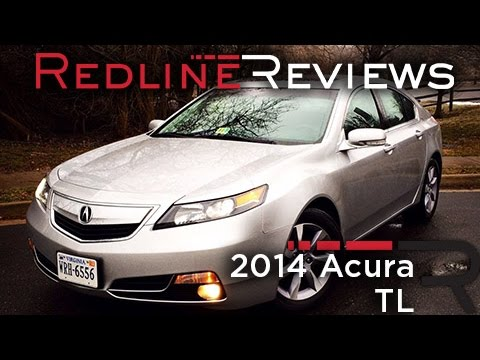 2014 Acura Tl Review Walkaround Exhaust Test Drive
