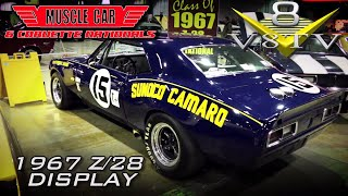 1967 Chevrolet Camaro Z/28 Sunoco Trans Am Car Video 2017 Muscle Car and Corvette Nationals V8TV