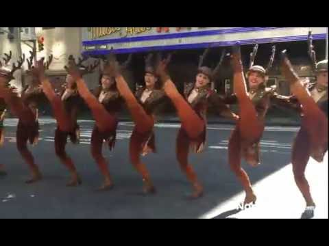 The Rockettes perform